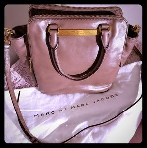 Marc by Marc Jacob taupe leather handbag